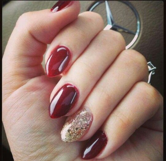 Love this nail shape