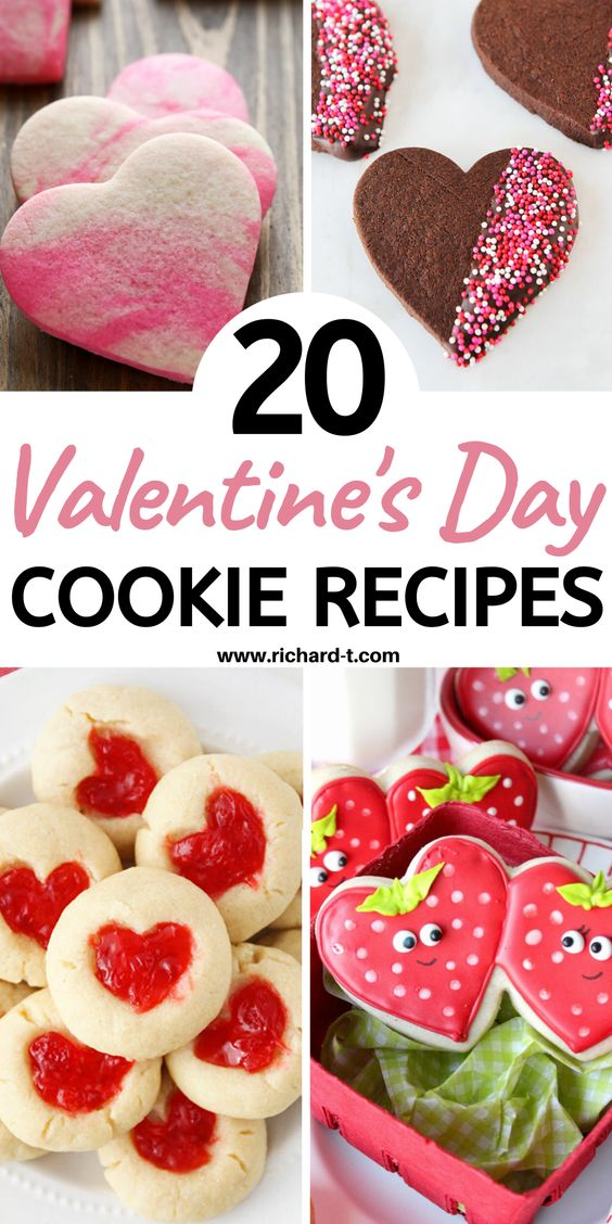 20 Valentines Day Cookies That Your Spouse Will Love!