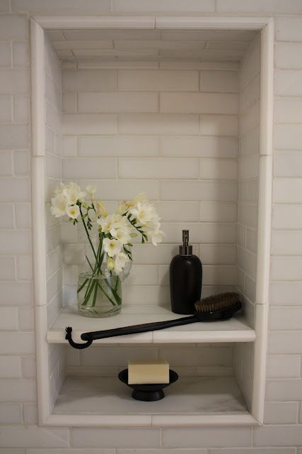 Shower Niche Showers And Shelves On Pinterest