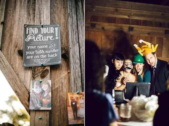 DIY photobooth | Kim & Jess' locally sourced, personalized rustic chic barn wedding at Murray Hill in Leesburg, VA | Images: Jordan Baker Photography