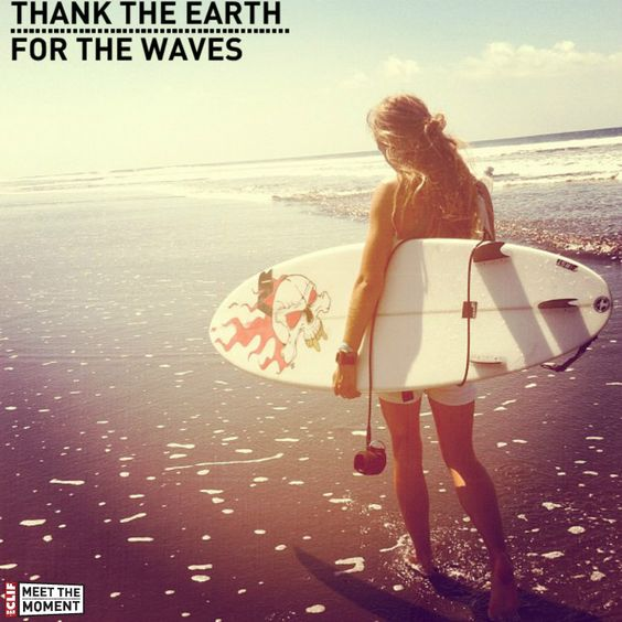 Thank the Earth for the Waves  Palmares, Costa Rica.