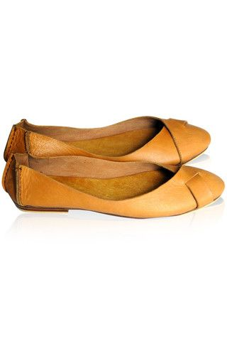 Native ballet flats - Handmade leather goods from Bali - $110.00