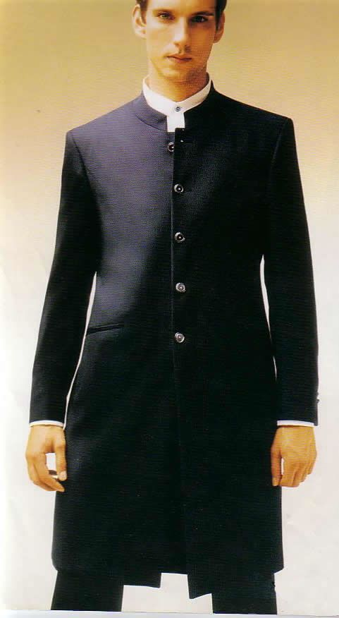 Mandarin Collar Tuxedo Jacket Alter Ego Fashion