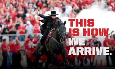 Texas Tech: This is how we arrive.