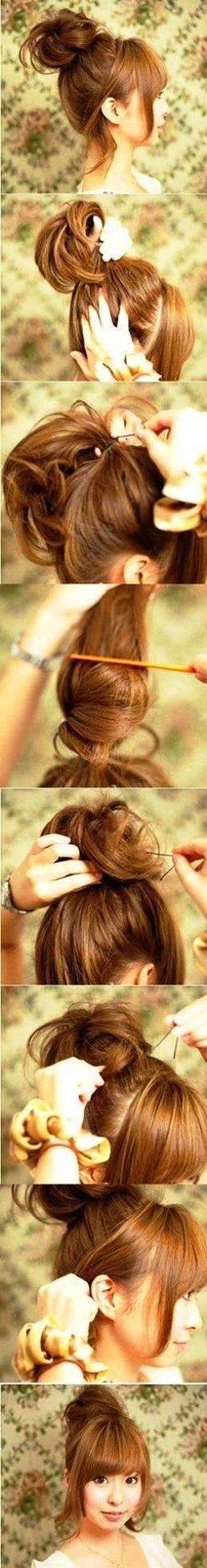 easy cute korean hairstyles for women photos