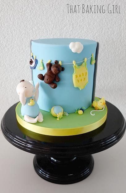Cake Artist Zurich : Babyparty-Kuchen, Baby Shower Kuchen and Zur Geburt on ...