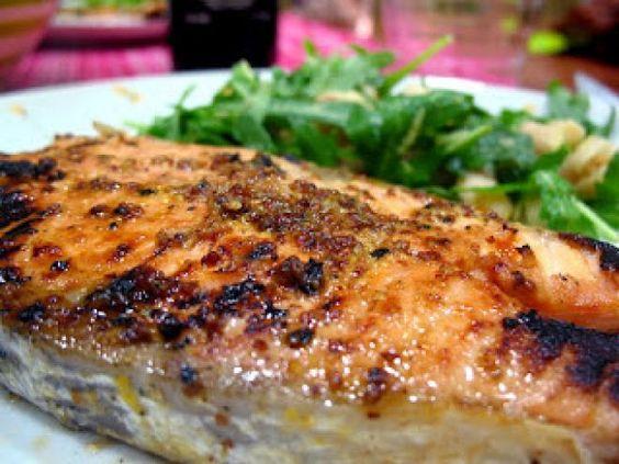 Receita Prato Principal : Salmão marinado em mostarda e mel de Chef Spadanini