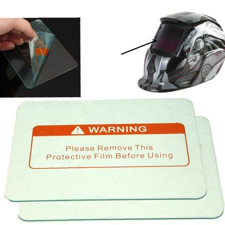 Clear Weld Lens Plastic Safety Lenses for Welding Helmet Hood