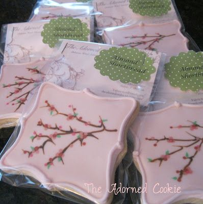 The Adorned Cookie: Cherry Blossom Time