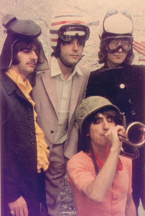 FAB Four ---- They're being funny... Maybe Magical Mystery Tour which had some…