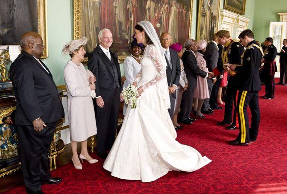 Kate Middleton - Royal Wedding - Evening Celebrations At Buckingham Palace