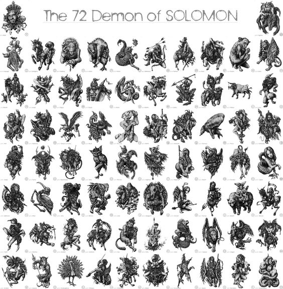 King Solomon's demons