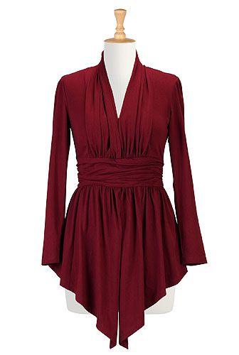 v neck dresses plus size blouses