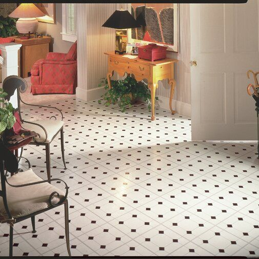 Afton Diamond Jubliee 12 X 12 X 0 1 Mm Vinyl Tile White Vinyl Flooring Vinyl Tile Flooring Vinyl Flooring