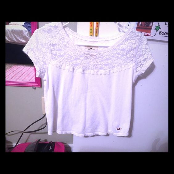 Top Hollister top. Small. Used Hollister Tops Crop Tops