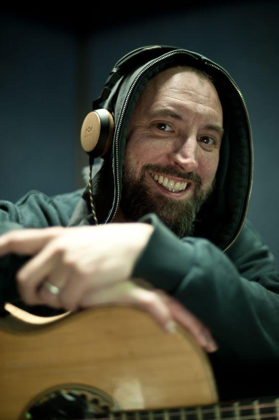 @Fink at his rehearsal with his Marley headphones @houseofmarleyuk #headphones #fink @ninjatunes