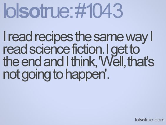 My cooking story...