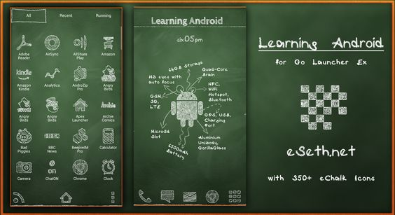 Learning Android Theme by gseth.deviantart.com