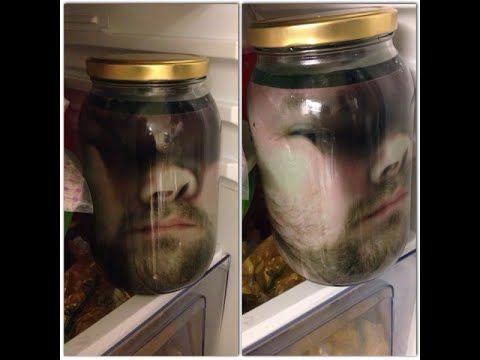 halloween fridge jar - Google Search