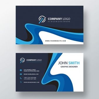 Download Blue Swirl Professional Business Card For Free Yellow Business Card Business Cards Creative Professional Business Cards
