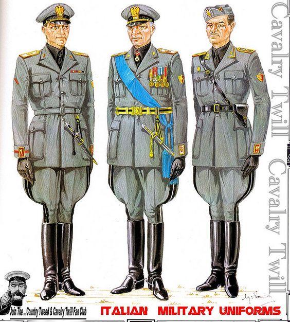 Italian military uniforms | World War 2 Uniforms ...