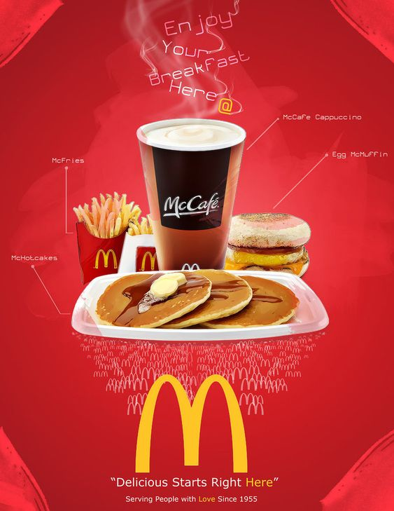 McDonalds poster ad by ~janmil000 on deviantART | fast food adv ...