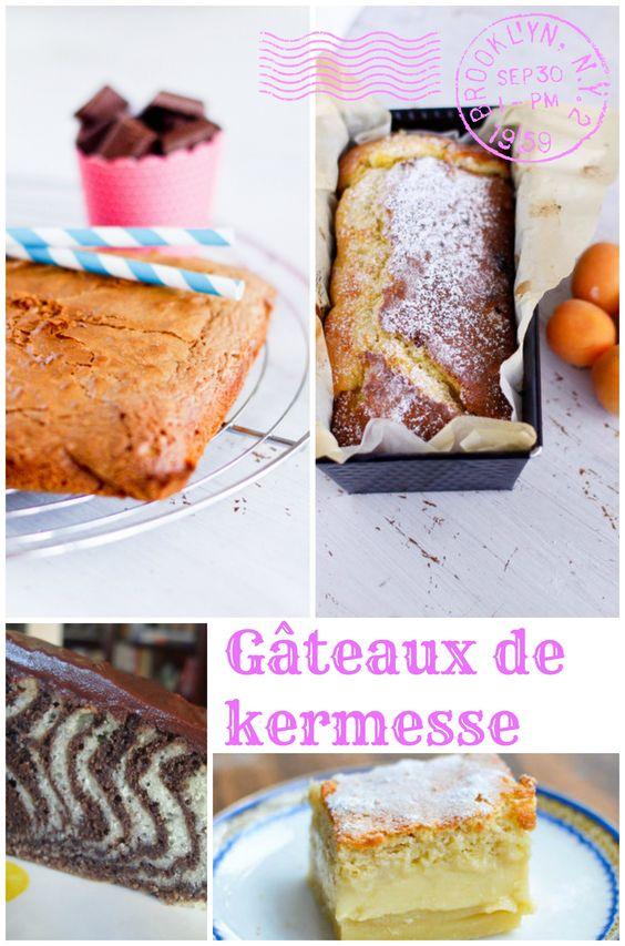 Toute une liste de gâteaux parfaits pour la kermesse