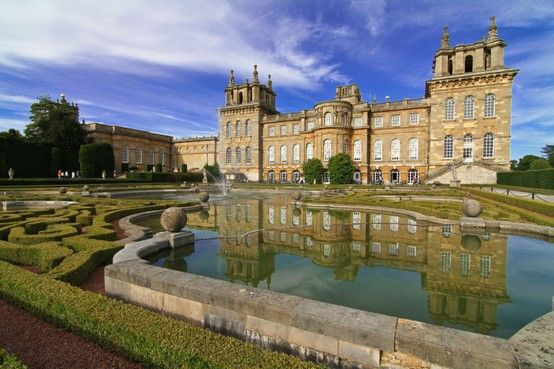 Sunny Blenheim Palace!: