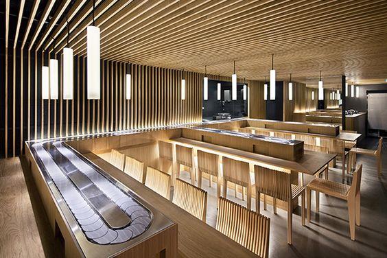 Matsuri boetie japanese restaurant by moreau kusunoki for Architectural concepts for restaurants