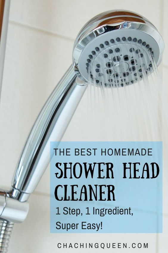 This is the best homemade shower head cleaner that will save you time and money. Using just one ingredient, learn how to easily clean your shower head.