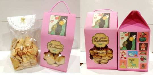My first result with my Owner  Packaging Design&Printing Shop