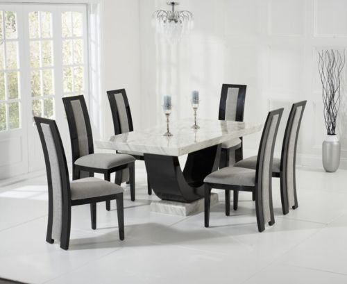 Please Call Us Before Placing An Order For Lead Time Classy Sophisticated And Elegant The Rivilin Black Dining Room Table Black Dining Room Dining Table Marble