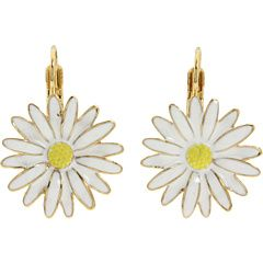 Kate Spade New York Daisy Chain Daisy White Earrings