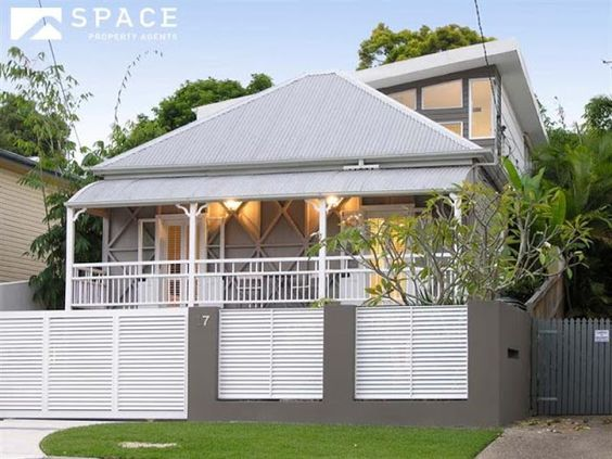 An Original Workers 39 Cottage Colonial Queenslander With A New Extension