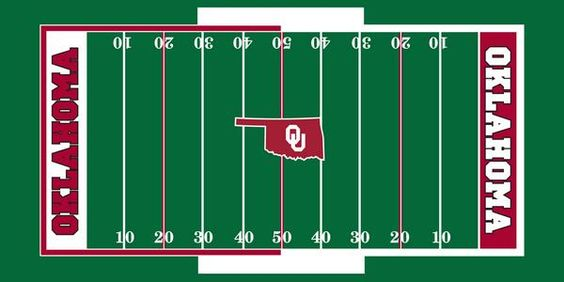 Oklahoma Football - Spring Football Contest allowing fans to design the field for the Spring Game