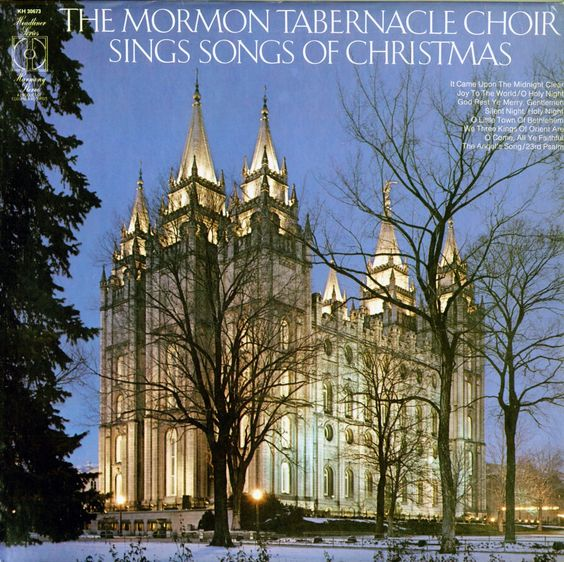 Mormon Tabernacle Choir - Sings Songs For Christmas  Find more LDS greats at: MormonFavorites.com    More LDS Gems at:  www.MormonLink.com