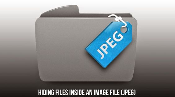 How to Hide Files Behind an Image