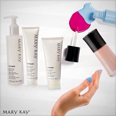 Satin hands/ manos de seda de Mary Kay. Solicita una muestra gratis.