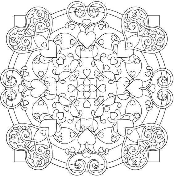 coloring mandala coloring and coloring books on pinterest. Black Bedroom Furniture Sets. Home Design Ideas