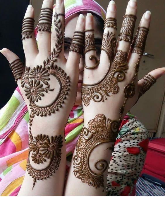 Pin By Sana Nazir On Henna Inspiration Simple Arabic Mehndi