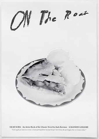 Ed Ruscha poster for On The Road
