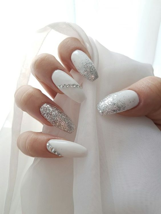 2018 50+ hottest White Matte Nail Designs | BeautyBigBang
