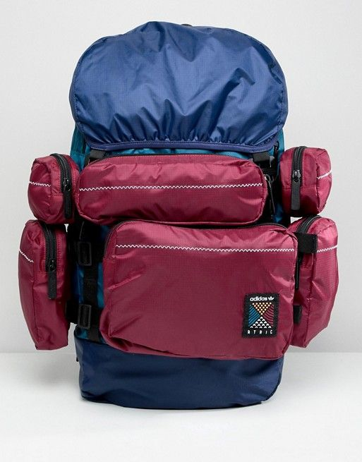 Adidas Originals Atric Backpack In Blue Ce2372 Backpacks Adidas