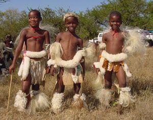 Zulù children