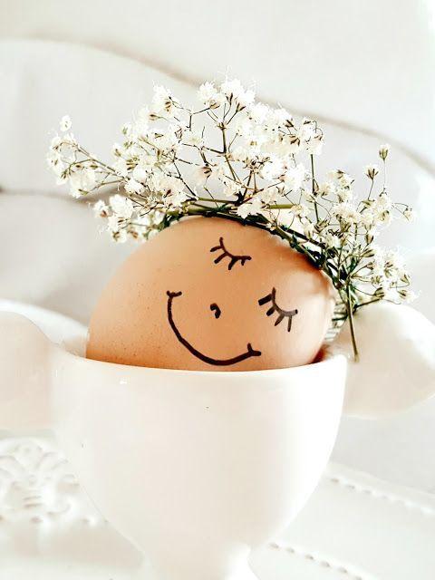 Как украсить пасхальные яйца