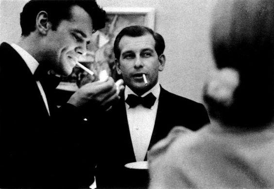Charles Eames and Eero Saarinen
