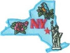 State Of New York Fun Patch