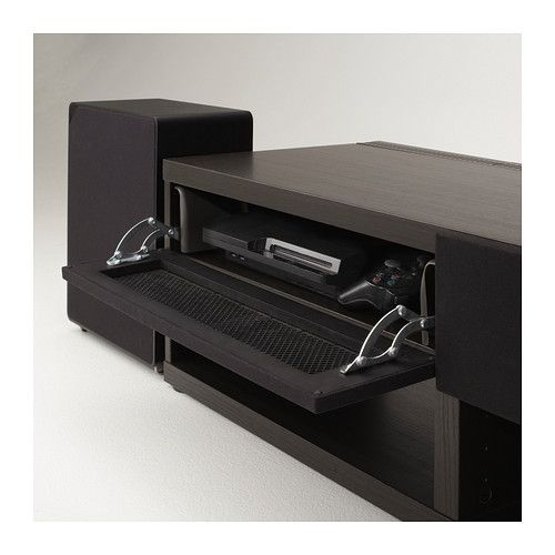 sektion high cabinet w pull out organizers brown grimsl v medium brown tvs the o 39 jays and. Black Bedroom Furniture Sets. Home Design Ideas