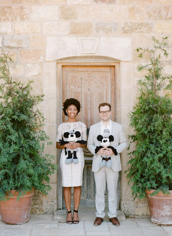 Photography: Rebecca Yale Photography - rebeccayalephotography.com Groom's Attire: J.Crew - www.jcrew.com   Read More on SMP: http://www.stylemepretty.com/2015/11/30/movie-animator-couples-whimsical-engagement-session/
