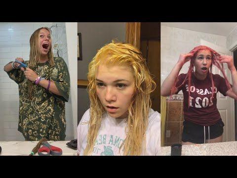Tiktok Hair Fails Wins Part 5 Youtube Hair Fails Diy Hairstyles Hair
